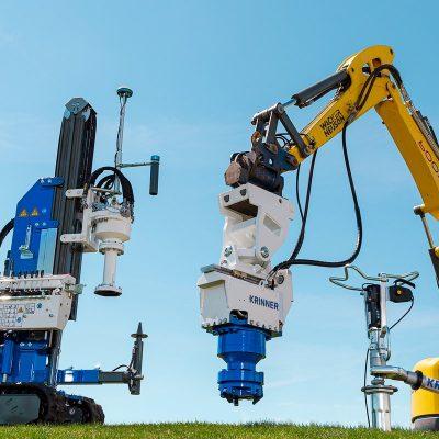 Krinner Systemlösning samlingssida skruv och maskiner